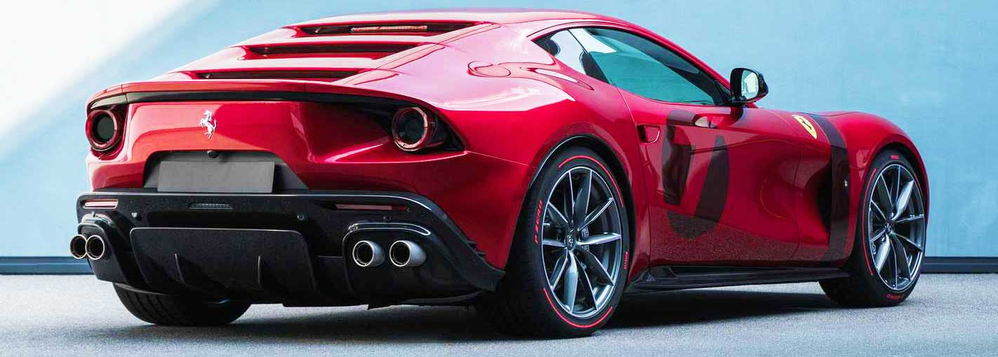 Ferrari Omologata tasarımı
