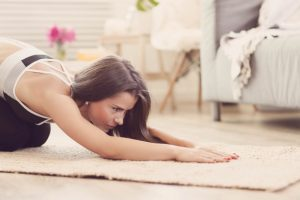 karantinada pilates yapın