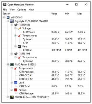 Bilgisayar sıcaklığını ölçen programlar
