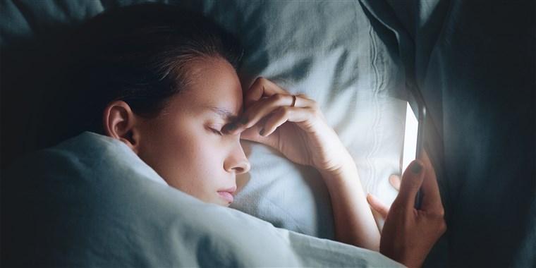 uyku problemi yaşayanlar screentime